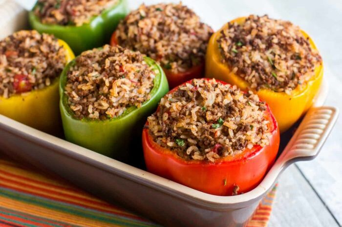 Stuffed Peppers for Instant Pot