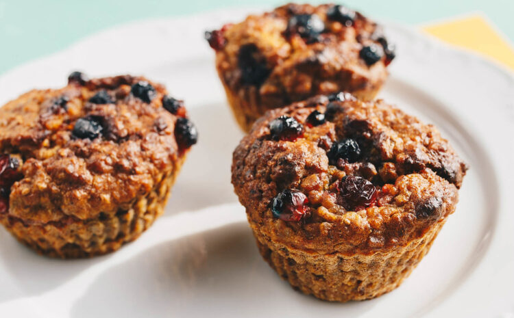 Instant Pot Healthy Oatmeal Muffins