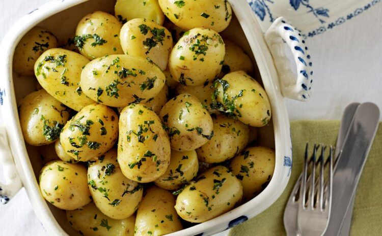 Perfectly Steamed Potatoes